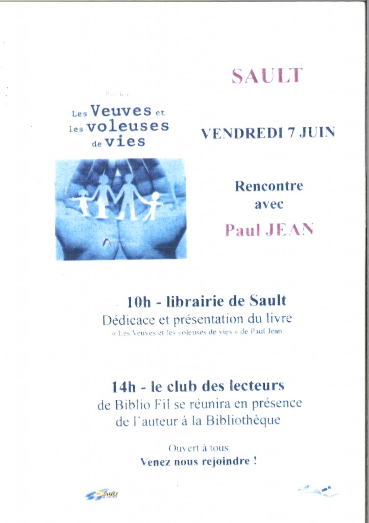 BIBLIOTHEQUE DE SAULT RENCONTRE