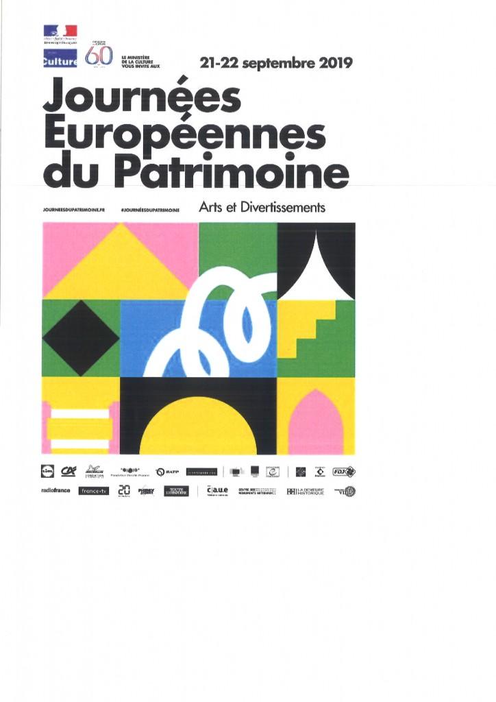 journees europeennes du patrimone 2019